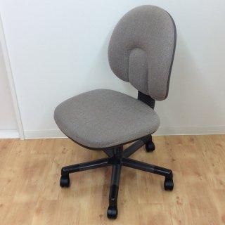 オフィスチェア【Chitose】肘なし・ファブリック・椅子//美品