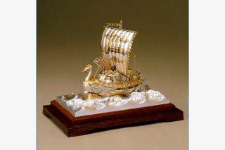 銀製 宝船 2号(鳳凰)