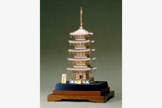 銀製 五重塔