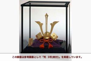 純金 兜  2号(剣付)