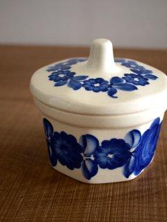 ポーランド ヴウォツワヴェク陶器 シュガーボウル