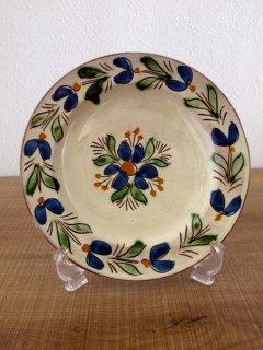 ハンガリー マヨリカ陶器 飾り皿(19cm)