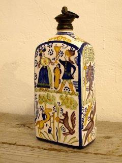 コロンド焼(korond)陶器ボトル