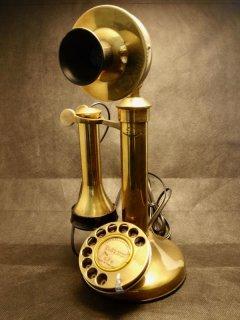 英国ゼネラル・エレクトリック社 卓上電話機 Candlestick Phone