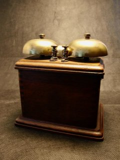 Vintage Telephone Ringer Box 電話ベル