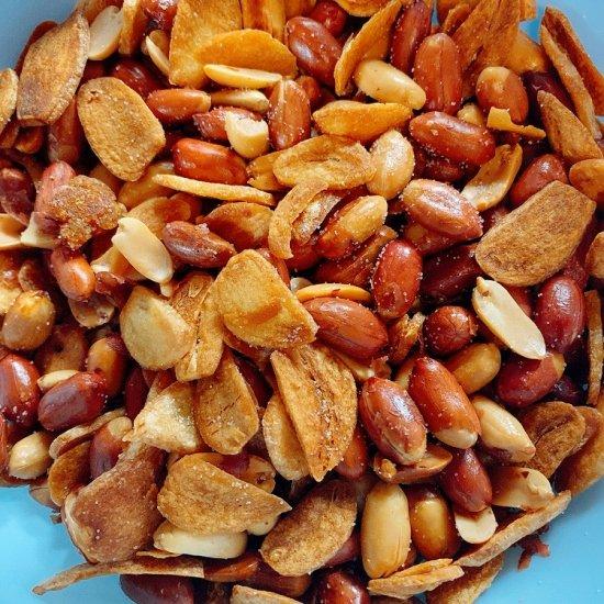 塩味 にんにく ピーナッツ     おつまみスナック菓子 画像3