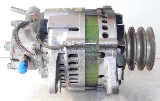 ●オルタネーター ●日立製 いすゞエルフ・日産UDコンドル LR250-507C 【  中古品[程度B]・コア返却不要】※ポンプ付き