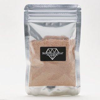 【粉末岩塩バスソルト兼用】40gパック・チャック付きOPP入り ブラックダイヤソルト・ビューティパウダー