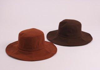 屋久杉染 キャペリン帽