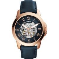 【40時間のパワーリザーブ】正規品 FOSSIL フォッシル GRANT グラント 腕時計 メンズ ME3102  ネイビー レザー 機械式 自動巻き 商品画像