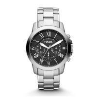 【価格以上のデザイン♪】正規品 期間限定価格☆ FOSSIL フォッシル GRANT グラント 腕時計 メンズ  FS4835 クロノグラフ ネイビーレザー【限定セール】正規品 FOSSIL フォッシル GRANT グラント 腕時計 メンズ クロノグラフ ステンレス ブラック FS4736 商品画像