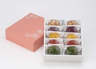 【K-012】花咲かりん詰め合わせ箱入り(10個入り)