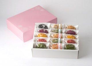 【H-204】花咲かりん詰合せ箱15個入り(塩味入り)