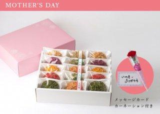 【HH-205】(母の日ギフト)花咲かりん詰合せ箱15個入り(塩味入り)