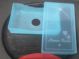 クローバー名刺ケース(ブルー) 2000個 (単価16円)