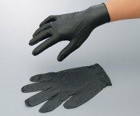 アズツールトライグリップニトリル手袋(黒)1箱50枚入 4-1077