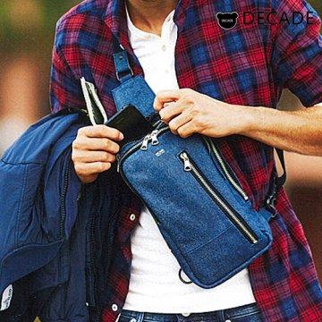 Denim Leather  No-00998-X  ボディバッグ  Safari掲載商品
