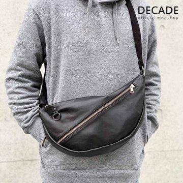 ソフトホースレザー・ショルダーバッグDECADE(No-01226-X) Oiled Horse Leather Body Bag ディケイド