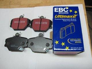 """EBC""""ULTIMAX""""フロンディスクパット1セット社外品"""