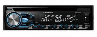 カロッツェリアCDデッキDEH-6200・100W×4社外品