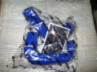 GPLUS【SAMCO】 シリコンホースセット ブルー外品