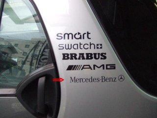 ステッカーMercedes-Benz★説明文をよくお読みください。