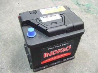 インディゴ メンテナンスフリーバッテリー社外品