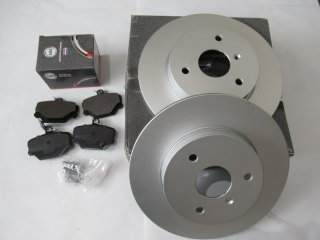 450・452・451ブレーキパッド・ディスクローターセット社外品abs all brake systems製品