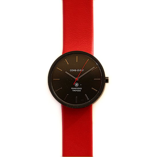 Comb-o Watch    R37BK Red (レッド)