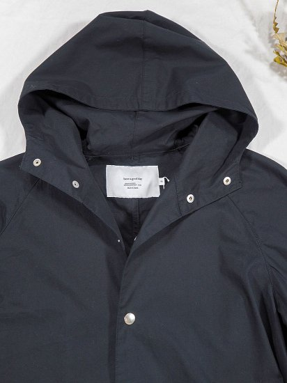 have a good day  フーデッドコート Hooded Coat 7