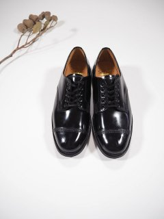 SANDERS  FEMALE MILITARY DERBY SHOE ITSHIDE SOLE