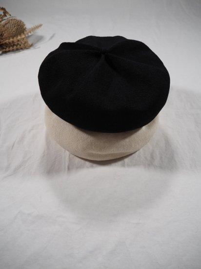 mature ha.  beret top gather big silk MAS20-20 9