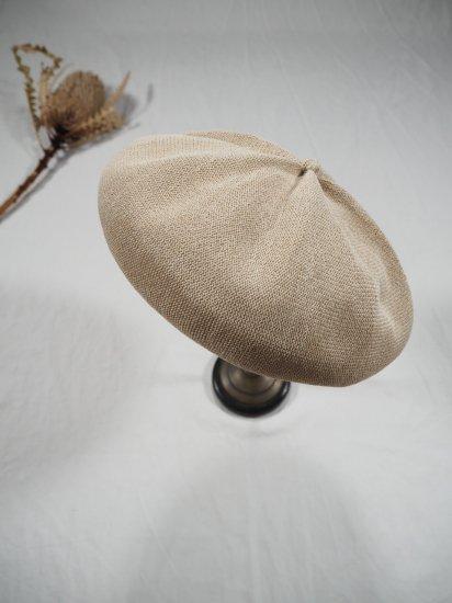 mature ha.  beret top gather big silk MAS20-20 7