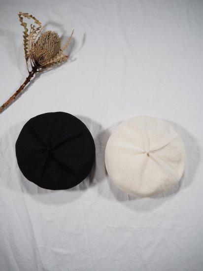 mature ha.  beret top gather big silk MAS20-20 8