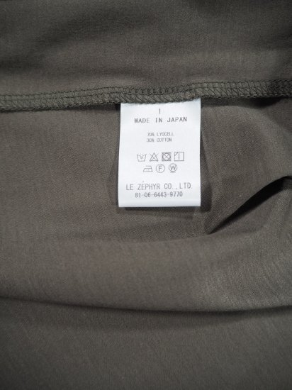 Bon Vieux Temps  リヨセルコットンスカート 27668 8