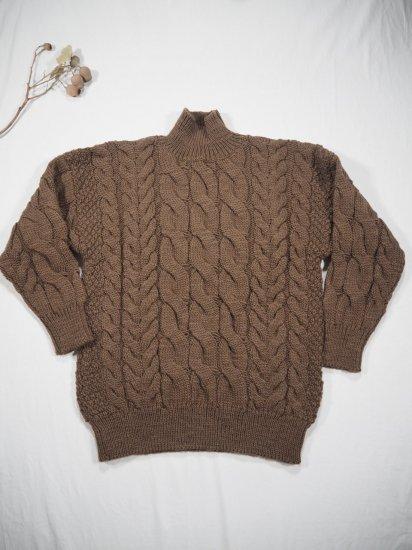 LENO  Big Cable Sweater U1902-K002 4
