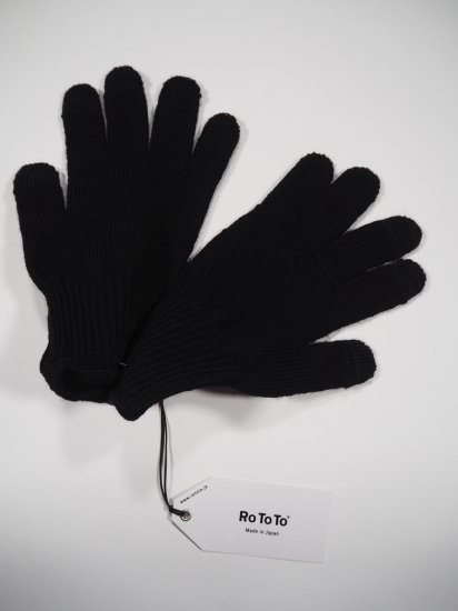 Rototo MERINO WOOL TOUCH PANEL GLOVE R1261 2