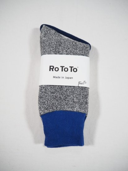 Rototo DOUBLE FACE SOCKS R1034 3