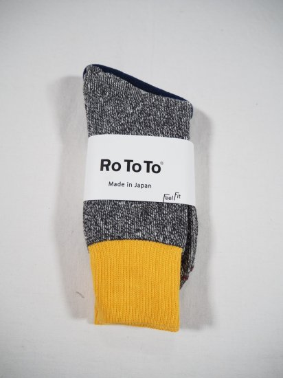 Rototo DOUBLE FACE SOCKS R1034 6