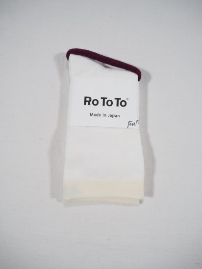 Rototo MOCCHILY SOCKS