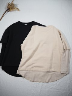 SPOOL BY B&H  LAYERED SWEAT