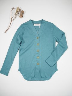 LUV OUR DAYS  V-NECK CARDIGAN