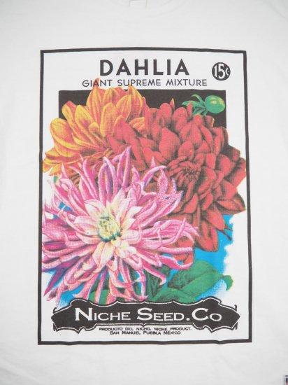 Niche.  FLOWER SEEDS Tシャツ FLOWER 1