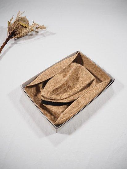 mature ha.  BOXED HAT 11� BRIM [grosgrain ribbon] MBOX-101 4