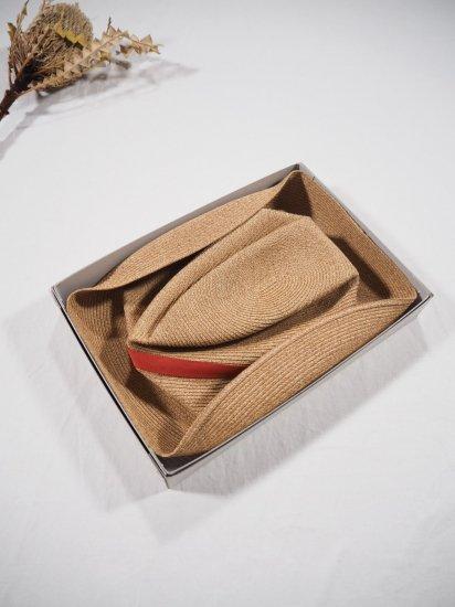 mature ha.  BOXED HAT 11� BRIM [grosgrain ribbon] MBOX-101 5
