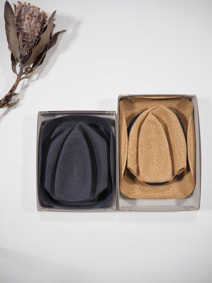 mature ha.  BOXED HAT 11� BRIM [grosgrain ribbon] MBOX-101 7