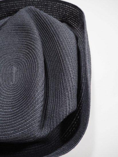 mature ha.  BOXED HAT 7� BRIM [grosgrain ribbon] MBOX-104 1