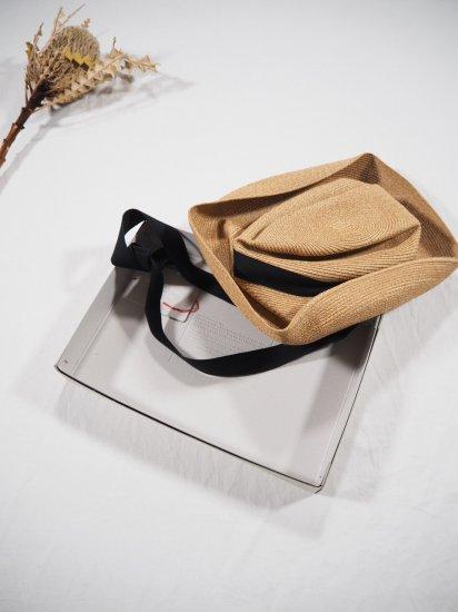 mature ha.  BOXED HAT 11� BRIM [garden ribbon] MBOX-101GA 5