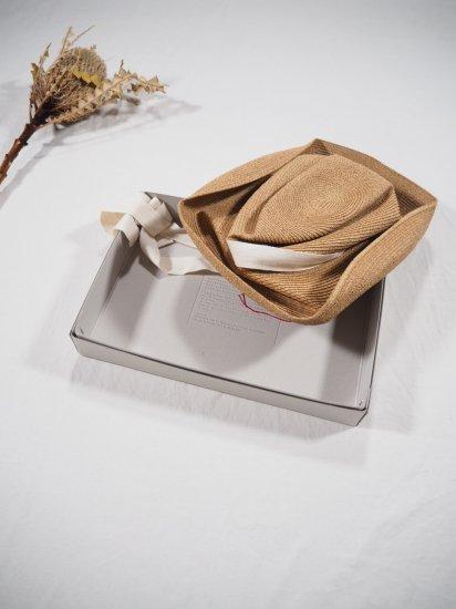 mature ha.  BOXED HAT 11� BRIM [garden ribbon] MBOX-101GA 6