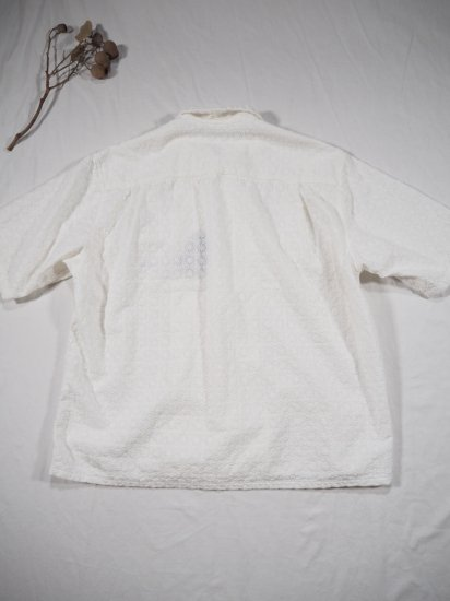 Niche.  LACE オープンカラーシャツ LACE 4
